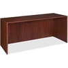"Lorell Essentials Credenza Shell - 59"" x 23.6"" x 29.5"" - Finish: Laminate, Mahogany"