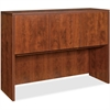 "Lorell Essentials Hutch with Doors - 47.3"" x 14.8"" x 36"" - Drawer(s)3 Door(s) - Finish: Cherry, Laminate"