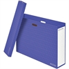 "Chart Storage Boxes - Internal Dimensions: 31.25"" Width x 7"" Depth x 22.50"" Height - External Dimensions: 32.8"" Width x 7.8"" Depth x 23"" Height - 50 lb - Corrugated Paper - Purple - For Ch"