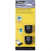 Fellowes SafeCut Rotary Trimmer Blades - 2Pk Straight - Straight Style - Retractable - Plastic, Stainless Steel - 2 / Pack - Black