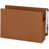"""Smead Extra Wide 100% Recycled End Tab Redrope Pockets - Legal - 8 1/2"""" x 14"""" Sheet Size - 3 1/2"""" Expansion - Redrope - Redrope - Recycled - 25 / Box"""