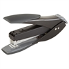 "SmartTouch™ Compact Stapler - 25 Sheets Capacity - 105 Staple Capacity - Half Strip - 1/4"" Staple Size - Black, Gray"