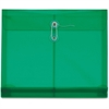 "Pendaflex Poly Ultracolor Envelope - Letter - 8 1/2"" x 11"" Sheet Size - 200 Sheet Capacity - 1 1/4"" Expansion - Polypropylene - Green - 5 / Pack"