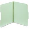 "Pendaflex Light Green Pressboard Folder - Letter - 8 1/2"" x 11"" Sheet Size - 2"" Expansion - 1/3 Tab Cut - Assorted Position Tab Location - 25 pt. Folder Thickness - Pressboard - Gray, Green - 25 / Box"