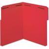 "Pendaflex Fastener Folder - Letter - 8 1/2"" x 11"" Sheet Size - 3/4"" Expansion - 2 Fastener(s) - 2"" Fastener Capacity for Folder - 1/3 Tab Cut - Top Tab Location - 11 pt. Folder Thickness - Red - 50 /"