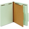 "Pendaflex Recycled Classification File Folder - Letter - 8 1/2"" x 11"" Sheet Size - 2"" Expansion - 4 Fastener(s) - 2"" Fastener Capacity - 2/5 Tab Cut - Right Tab Location - 1 Divider(s) - 25 pt. Folder"