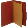 "Pendaflex 100% Recycled Classification Folder - Legal - 8 1/2"" x 14"" Sheet Size - 1 3/4"" Expansion - 2 Fastener(s) - 2"" Fastener Capacity - 2/5 Tab Cut - Right Tab Location - 1 Divider(s) - 25 pt. Fol"