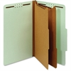 "Pendaflex 100% Recycled Classification Folder - Legal - 8 1/2"" x 14"" Sheet Size - 2 1/2"" Expansion - 6 Fastener(s) - 2"" Fastener Capacity - 2/5 Tab Cut - Right Tab Location - 2 Divider(s) - 25 pt. Fol"
