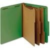 "Pendaflex 3-Dividers Classification Folder - Letter - 8 1/2"" x 11"" Sheet Size - 3 1/2"" Expansion - 5 Fastener(s) - 2"" Fastener Capacity for Folder, 1"" Fastener Capacity for Divider - 2/5 Tab Cut - Rig"