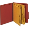 "Pendaflex 2-Pocket Divider Classification Folder - Letter - 8 1/2"" x 11"" Sheet Size - 2 1/2"" Expansion - 4 Fastener(s) - 2"" Fastener Capacity for Folder, 1"" Fastener Capacity for Divider - 2 Pocket(s)"