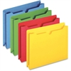"Pendaflex Colored File Jacket - Letter - 8 1/2"" x 11"" Sheet Size - 400 Sheet Capacity - 2"" Expansion - 11 pt. Folder Thickness - Blue, Green, Red, Yellow - 50 / Box"