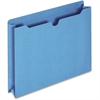"Pendaflex Colored File Jacket - Letter - 8 1/2"" x 11"" Sheet Size - 400 Sheet Capacity - 2"" Expansion - 11 pt. Folder Thickness - Blue - 50 / Box"
