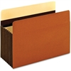"Pendaflex Heavy Duty Pocket - Legal - 8 1/2"" x 14"" Sheet Size - 1600 Sheet Capacity - 7"" Expansion - 24 pt. Folder Thickness - Redrope - Brown - 5 / Box"