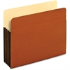 "Pendaflex Tyvek File Pocket - Letter - 8 1/2"" x 11"" Sheet Size - 400 Sheet Capacity - 1 3/4"" Expansion - Top Tab Location - 12.5 pt. Folder Thickness - Redrope - Brown - 25 / Box"