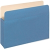 "Pendaflex Colored File Pocket - Letter - 8 1/2"" x 11"" Sheet Size - 400 Sheet Capacity - 1 3/4"" Expansion - 11 pt. Folder Thickness - Tyvek, Card Stock - Blue - 1 Each"