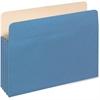 "Pendaflex Colored File Pocket - Letter - 8 1/2"" x 11"" Sheet Size - 400 Sheet Capacity - 1 3/4"" Expansion - 11 pt. Folder Thickness - Tyvek, Card Stock - Blue - 1 Each"