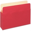 "Pendaflex Colored File Pocket - Letter - 8 1/2"" x 11"" Sheet Size - 400 Sheet Capacity - 1 3/4"" Expansion - Top Tab Location - 9 pt. Folder Thickness - Card Stock - Red - 1 Each"