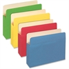 "Pendaflex Colored File Pocket - Letter - 8 1/2"" x 11"" Sheet Size - 875 Sheet Capacity - 3 1/2"" Expansion - Top Tab Location - Tyvek, Card Stock - Assorted - 25 / Box"