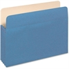 "Pendaflex Colored File Pocket - Letter - 8 1/2"" x 11"" Sheet Size - 875 Sheet Capacity - 3 1/2"" Expansion - Top Tab Location - 9 pt. Folder Thickness - Tyvek, Card Stock - Blue - 1 / Each"