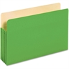 "Pendaflex Colored File Pocket - Legal - 8 1/2"" x 14"" Sheet Size - 875 Sheet Capacity - 3 1/2"" Expansion - Top Tab Location - Tyvek, Card Stock - Green - 1 Each"