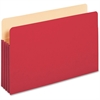"Pendaflex Colored File Pocket - Legal - 8 1/2"" x 14"" Sheet Size - 875 Sheet Capacity - 3 1/2"" Expansion - Top Tab Location - Tyvek, Card Stock - Red - 1 Each"