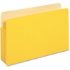 "Pendaflex Colored File Pocket - Legal - 8 1/2"" x 14"" Sheet Size - 875 Sheet Capacity - 3 1/2"" Expansion - Top Tab Location - Tyvek, Card Stock - Yellow - 1 Each"