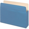 "Pendaflex Colored File Pocket - Letter - 8 1/2"" x 11"" Sheet Size - 1100 Sheet Capacity - 5 1/4"" Expansion - Top Tab Location - 9 pt. Folder Thickness - Tyvek, Card Stock - Blue - 1 Each"