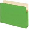 "Pendaflex Colored File Pocket - Letter - 8 1/2"" x 11"" Sheet Size - 1100 Sheet Capacity - 5 1/4"" Expansion - Top Tab Location - 9 pt. Folder Thickness - Card Stock - Green - 1 Each"