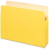 "Pendaflex Colored File Pocket - Letter - 8 1/2"" x 11"" Sheet Size - 1100 Sheet Capacity - 5 1/4"" Expansion - Top Tab Location - Tyvek, Card Stock - Yellow - 1 Each"