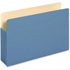 """Pendaflex Colored File Pocket - Legal - 8 1/2"""" x 14"""" Sheet Size - 1100 Sheet Capacity - 5 1/4"""" Expansion - Top Tab Location - 9 pt. Folder Thickness - Tyvek, Card Stock - Blue - 1 Each"""