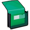 "Pendaflex UltraColor Expanding Wallet - Letter - 8 1/2"" x 11"" Sheet Size - 800 Sheet Capacity - 3 1/2"" Expansion - 2 Front Pocket(s) - Polypropylene - Green - 1 Each"