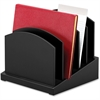 Victor Midnight Black Incline File Sorter - Desktop - Black - Wood - 1Each