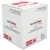 RecyclePak Recycling Box - White, Red - For Lamp Recycling - Recycled - 1 Each
