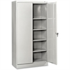 "Tennsco 7224 Standard Storage Cabinet - 36"" x 24"" x 72"" - 5 x Shelf(ves) - 2 x Swing Door(s) - 750 lb Load Capacity - Leveling Glide, Heavy Duty, Recessed Handle, Security Lock, Adjustable Shelf, Shel"