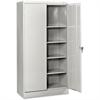 "Tennsco 7224 Standard Storage Cabinet - 36"" x 24"" x 72"" - 5 x Shelf(ves) - 2 x Swing Door(s) - 750 lb Load Capacity - Leveling Glide, Heavy Duty, Recessed Handle, Security Lock, Adjustable Shelf, Shel"