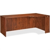 "Lorell Essentials Rectangular Right Credenza - 66.1"" x 35.4"" x 29.5"" - Finish: Cherry, Laminate"