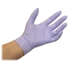 Kimberly-Clark Examination Gloves - Large Size - Nitrile - Lavender - Ambidextrous, Latex-free, Textured Fingertip, Beaded Cuff - For Laboratory Application - 250 / Box