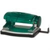 "Business Source Manual Hole Punch - 2 Punch Head(s) - 16 Sheet Capacity - 1/4"" Punch Size - Assorted"