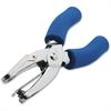 "CARL 1/4 Reach Medium-Duty Hole Punch - 1 Punch Head(s) - 15 Sheet Capacity - 1/4"" Punch Size - Round Shape - Silver"