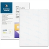 """Business Source Shipping Label - 1.50"""" Width x 2.81"""" Length - Rectangle - White - 2100 / Pack"""