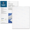 "Business Source Premium Mailing Label - Permanent Adhesive - ""1"" Width x 2.63"" Length - Rectangle - Inkjet - Clear - Polyester - 750 / Pack"