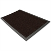 "Genuine Joe Ultraguard Berber Wiper/Scraper Mat - Hard Floor - 72"" Length x 48"" Width - Rubber - Chocolate"