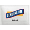 Genuine Joe Pure Sugar Packets - Packet - 0.10 oz - 1200/Box