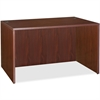 "Lorell Essentials Desk - 47.3"" x 23.6"" x 29.5"" - Finish: Laminate, Mahogany"