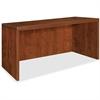 "Lorell Essentials Rectangular Desk Shell - 47.3"" x 29.5"" x 29.5"" - Finish: Cherry, Laminate"