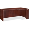 "Lorell Essentials Right Rectangular Credenza - 66.1"" x 35.4"" x 29.5"" - Finish: Laminate, Mahogany"