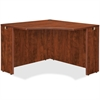 "Lorell Essentials Corner Desk - 41.4"" x 41.4"" x 29.5"" - Finish: Cherry, Laminate"