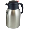 Genuine Joe Double Wall Stnls Vacuum Insulated Carafe - 2.1 quart (2 L) - Vacuum - Stainless Steel