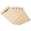 """Pendaflex 1/5 Cut Side Tab Folder Divider with Fastener - 8.50"""" Divider Width x 11"""" Divider Length - Letter - Manila Manila Divider - Assorted - 50 / Pack"""