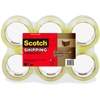 "Scotch 3750 Commercial-Grade Packaging Tape - 1.88"" Width x 54.60 yd Length - 3"" Core - Synthetic Rubber Resin - 2 mil - Polypropylene Backing - Dirt Resistant, Dust/Dirt-free, Commercial Grade - 6 /"